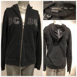 BCBG zippered hoodie